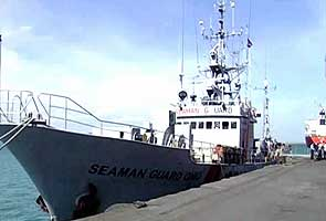 Security breach by American ship illegally carrying arms and ammunition