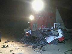 Egypt train crashes into mini-bus, kills 24