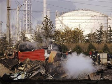 Oil pipeline explosion kills 47 in China, company issues apology