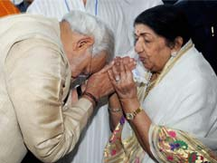 Lata Mangeshkar roots for Narendra Modi as PM; she is entitled to her view, says Congress