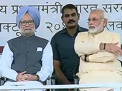 Manmohan Singh's dig at Narendra Modi