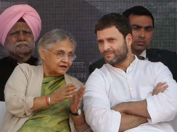 'At least stay for Rahul Gandhi's speech': Sheila Dikshit pleaded at Delhi rally