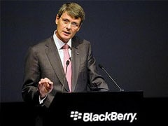 BlackBerry calls off sale, will replace CEO