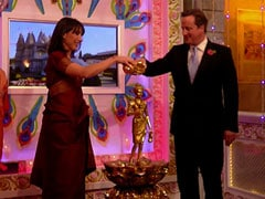 David Cameron's Diwali day out in London