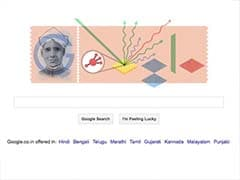 CV Raman's 125th birthday marked by a Google doodle