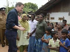 Britain's Cameron calls for international rights probe in Sri Lanka