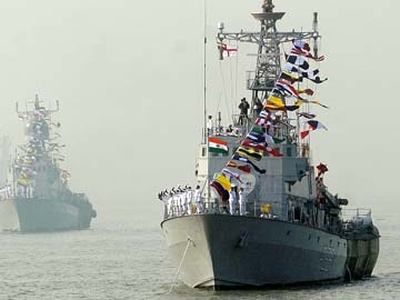 indian warships to escort aircraft carrier ins