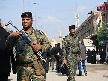 Firing mortar bombs at Saudi as warning: Iraq militia