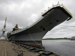 INS Vikramaditya starts sailing towards India from Russia