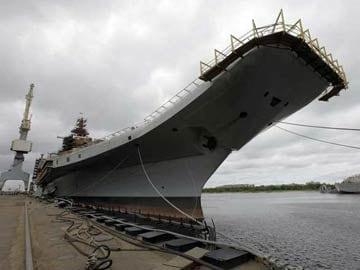 INS Vikramaditya starts sailing towards India from Russia