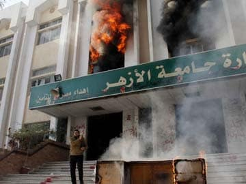 One student killed as Islamists and police clash in Egypt