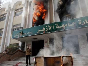 Islamist students torch Cairo campus building: police