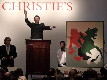 Christie's doubles estimates at first India auction