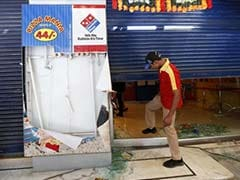 Mumbai: Protesters attack Dominos outlet over Devyani Khobragade case