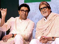 Mumbai: Tight security outside Amitabh Bachchan's house after parties slam his meeting with Raj Thackeray