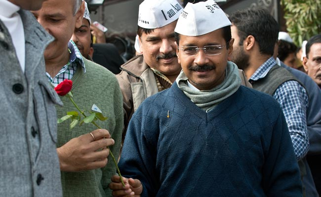Arvind Kejriwal to be Delhi Chief Minister, says it is the 'aam aadmi's' victory