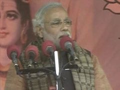 Voters, not political parties will fight 2014 polls: Narendra Modi in Varanasi
