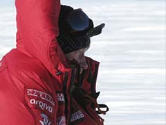 Britain's Prince Harry reaches South Pole