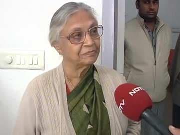 Fulfill promises, Sheila Dikshit tells Aam Aadmi Party