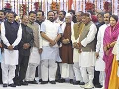 Madhya Pradesh Chief Minister Shivraj Singh Chouhan inducts 23 ministers
