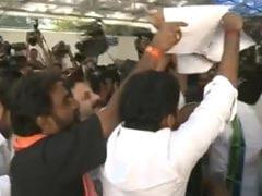 Telangana bill burnt outside Andhra Pradesh assembly: 10 developments