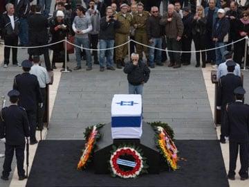 Hasil carian imej untuk ariel sharon funeral
