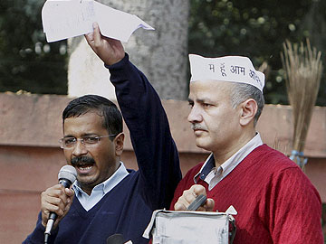 'Yes, I am an anarchist': Arvind Kejriwal asks Delhi to join protest