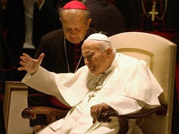 Catholic Church appeals to thieves to return John Paul II blood relic