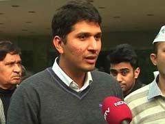 ग्रेटर कैलाश सीट : भारद्वाज बोले, बीजेपी ने कमजोर प्रत्याशी उतारा