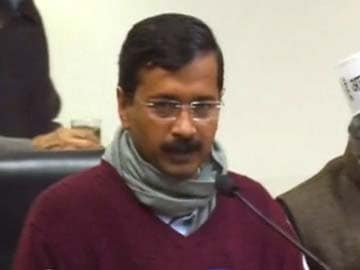 Delhi: Arvind Kejriwal announces anti-corruption helpline