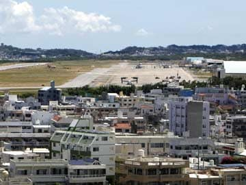 Japan says US base in Okinawa is only solution
