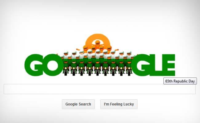 Google doodle celebrates India's 65th Republic Day