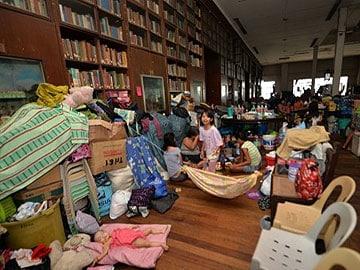 Classes reopen in Philippine typhoon zone