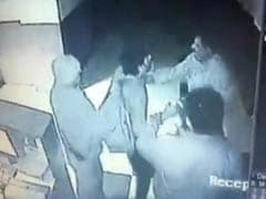 Caught on CCTV: cops assault doctor at Solapur hospital