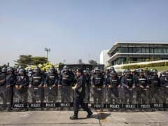 Shots fired as Thai PM meets, election body warns of chaos