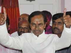 Merger with K Chandrasekhar Rao's party on cards, says Digvijaya, but TRS non-committal