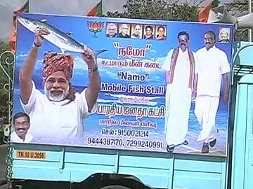 After 'chai', now a NaMo fish stall in Chennai