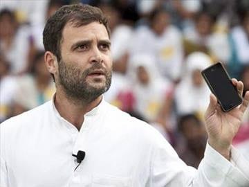 Smartphone-type education system needed: Rahul Gandhi
