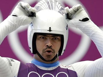 Without a flag, Shiva Keshavan honours India at Sochi Olympics