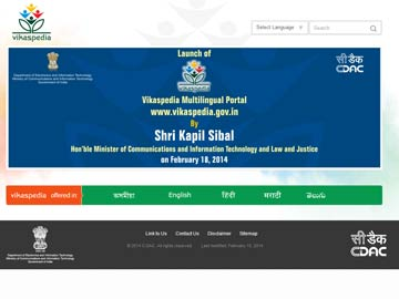 Government launches Vikaspedia, website for local content development tools
