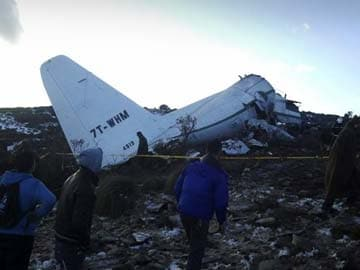 Plane crash algeria