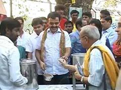 At 'Modi chai' event in Bangalore, late tea and few takers