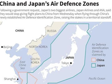 US warns China against new air defence zone
