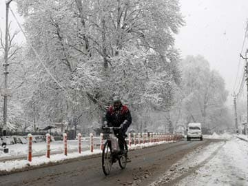 Respite from cold conditions in Kashmir Valley