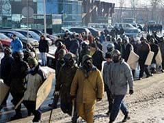 70,000 rally in Kiev in fresh show of force