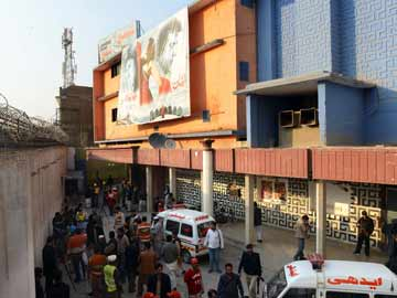 Ten dead, 16 wounded in blast at Pakistan cinema: officials