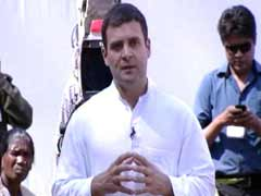Rahul Gandhi interacts with tribal women in Jharkhand