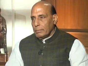 No support on Telangana if no order in Parliament: Rajnath Singh