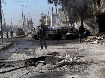 Syria barrel bomb raids on Aleppo kill 20: reports