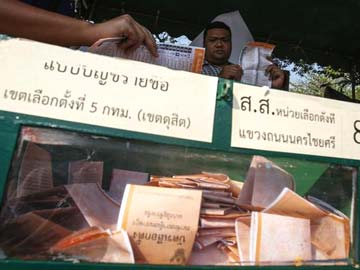 Defiant protesters disregard Thai poll, still want Prime Minister out